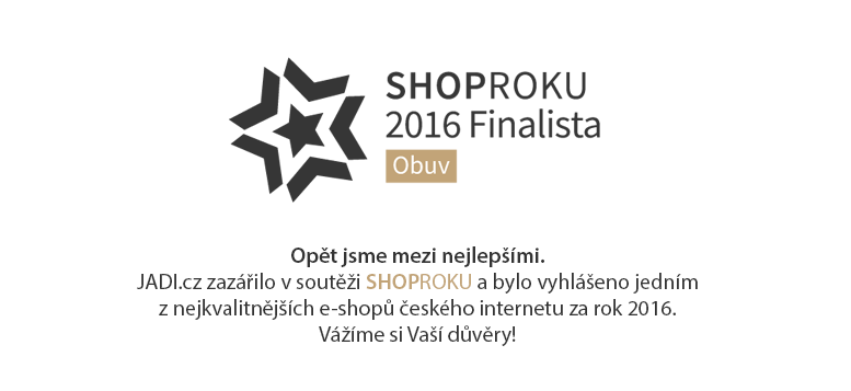 Jsme jedním z nejkvalitnějších českých e-shopů. JADI.cz