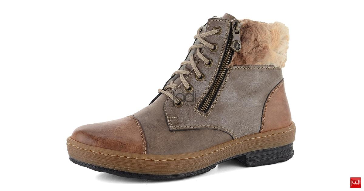 acd49b20b3991 Rieker zateplené členkové topánky s kožušinkou hnedé Z6739-24 - Rieker -  Podzim/zima - JADI.sk - ...viac než topánky