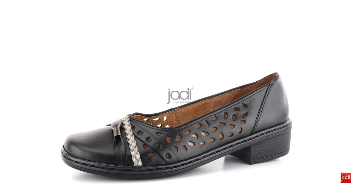 dca5173f6584 Jenny baleríny černé titan šíře H - Jenny by Ara - Balerínky - JADI.sk -  ...viac než topánky