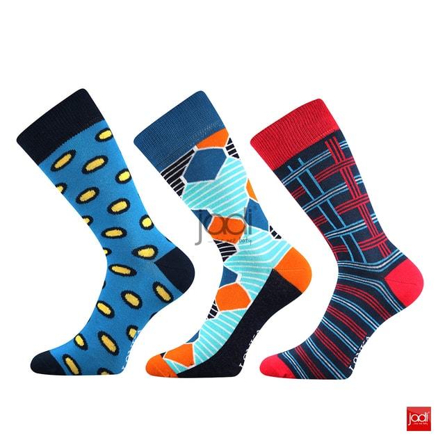 9ddce59e926 Lonka luxusní ponožky retro styl barevné  3 páry - Lonka - Pánské ponožky -  JADI.cz - ...více než boty