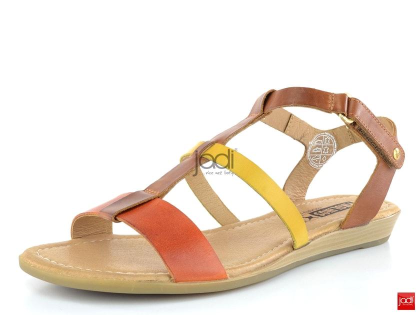 Pikolinos sandály barevné Orange Sol - Pikolinos - Sandály - JADI.cz -  ...více než boty a95f4bead51