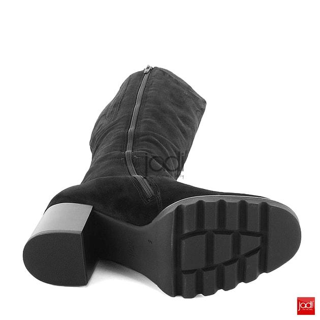 Högl semišové čižmy na podpätku čierne 6-104652 - Högl - Čižmy - JADI.sk -  ...viac než topánky f70fcb4c47c
