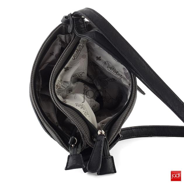 Rieker kabelka crossbody s kamínky grafitová H1014-45 - Rieker - Nekožené  kabelky - JADI.cz - ...více než boty 4cf22984b34