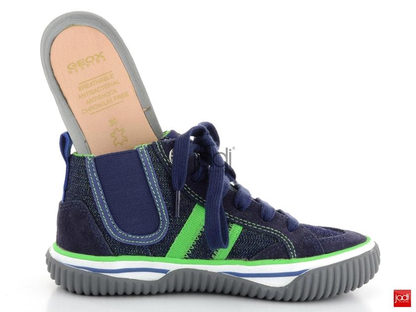 Geox chlapčenské členkové topánky Australis Navy Lime - Geox - Celoroční  obuv - JADI.sk - ...viac než topánky 54f39bbdf5b