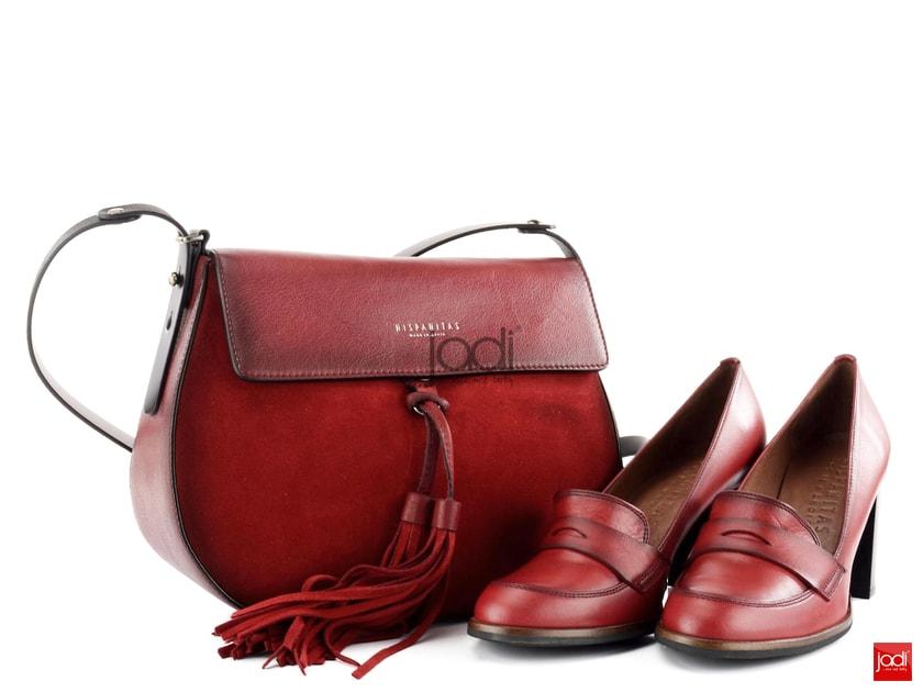3916c7cb6f Hispanitas poltopánky červené Brujas HI63861-CHERRY - Hispanitas - Lodičky  - JADI.sk - ...viac než topánky