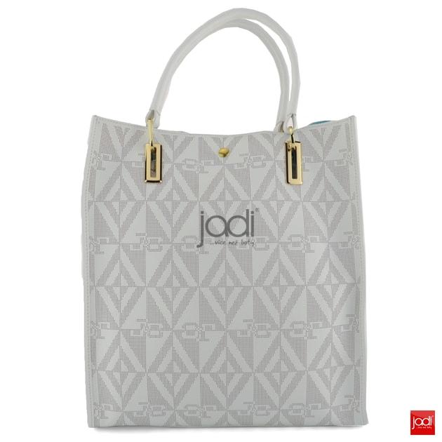 J C JACKYCELINE kabelka perforovaná White - J C JACKYCELINE - Kožené kabelky  - JADI.sk - ...viac než topánky f83da252e60