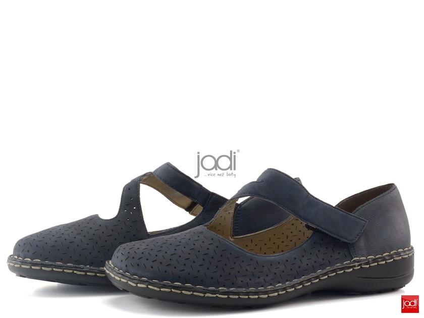 88856ad2df510 Rieker poltopánky perforované modré 49893-15 - Rieker - Polobotky - JADI.sk  - ...viac než topánky
