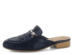 Tamaris pantofle Navy Metallic 1-27316-20