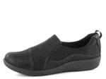Clarks polobotky Cloudsteppers Black Sillian Paz