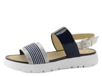 Geox sandály Amalitha navy/white D827WC0HHAW