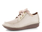 Clarks polobotky Funny Dream White Interest