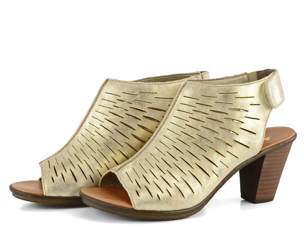 d9434923df72 Rieker sandály na nárt metalické 64197-62