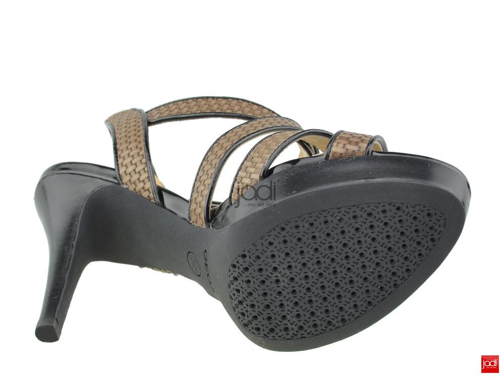 Geox elegantní sandály hnědé černé Ivana - Geox - Sandály - JADI.cz ... 64e0c29b96