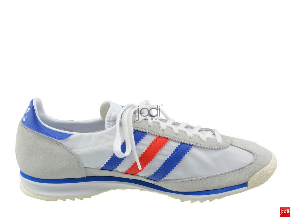 e1597c25f Adidas Originals Panske Tenisky Sl 72 Biele Sede Adidas Tenisky