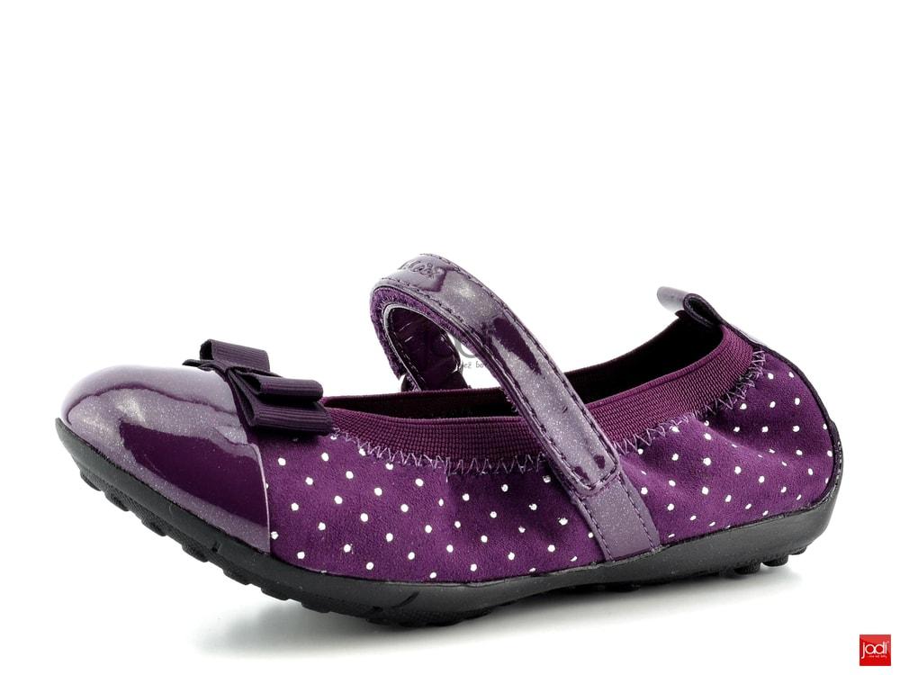 9ba0229d7d4 Geox dívčí baleríny fialové Piuma Purple - Geox - Celoroční obuv ...