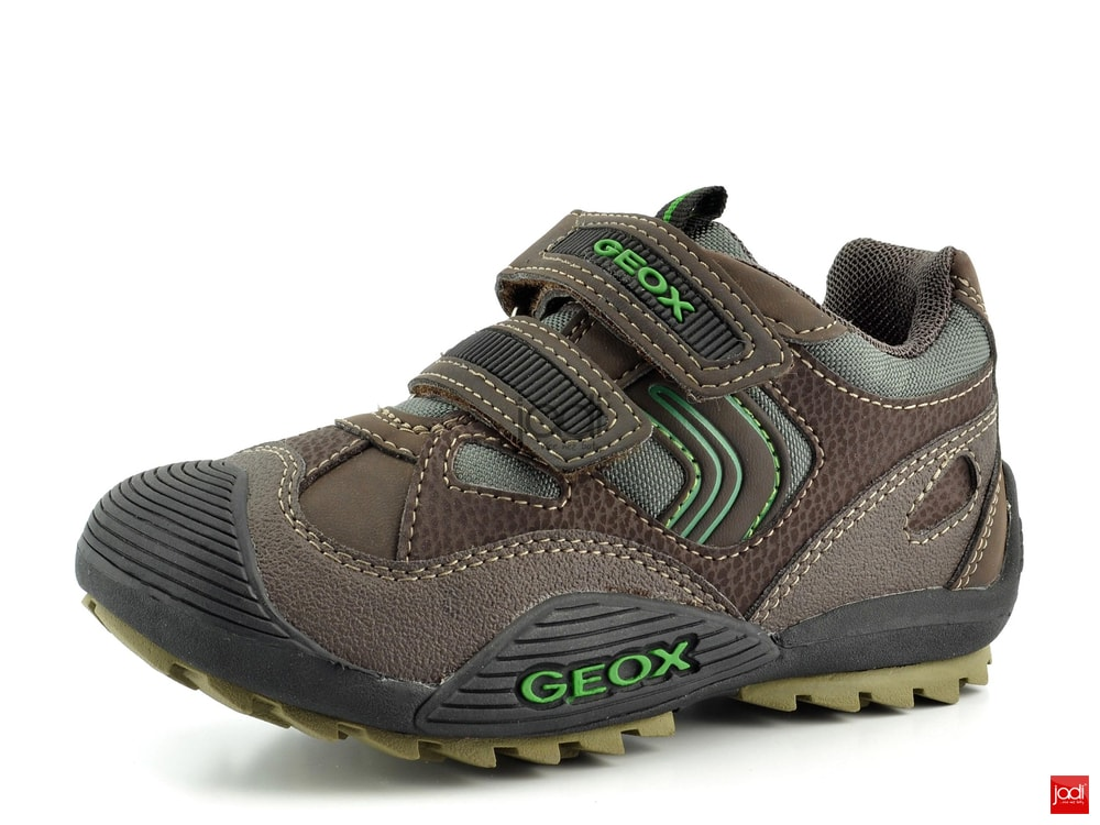 Geox chlapecké polobotky hnědé Savage - Geox - Celoroční obuv ... 64987bc7e9