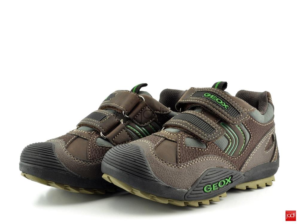 Geox chlapecké polobotky hnědé Savage - Geox - Celoroční obuv - JADI ... acf9488a3a