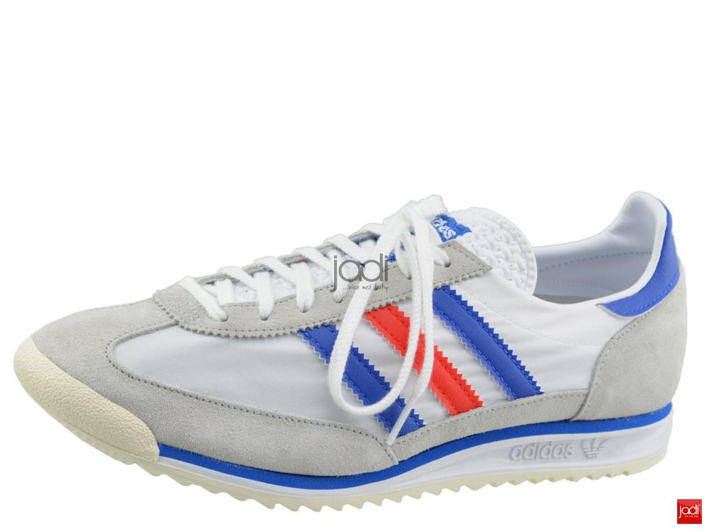 7e5b0773a8c adidas Originals pánské tenisky SL 72 bílé šedé - adidas - Polobotky ...