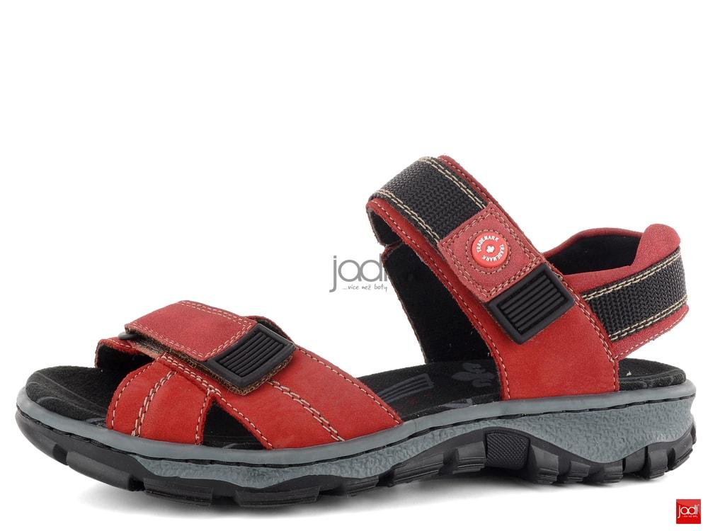 d11f0706efa Rieker sportovní sandály červené 68851-33 - Rieker - Sandály - JADI ...