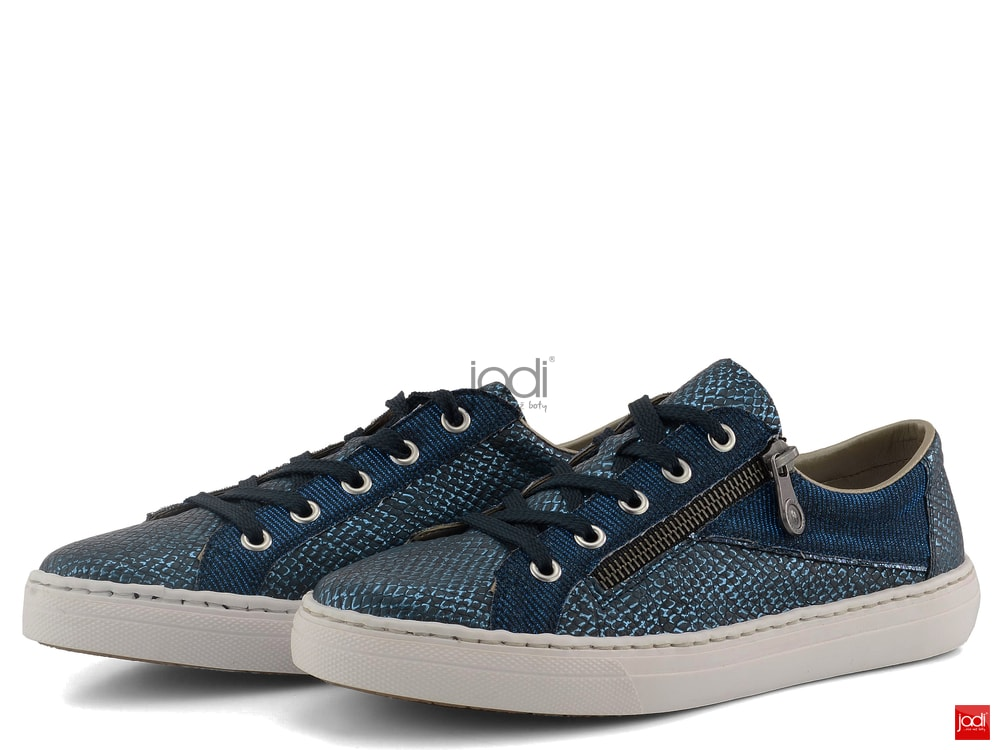 abf4b6f34 Rieker tenisky metalické modré M3924-14 - Rieker - Tenisky a kecky ...