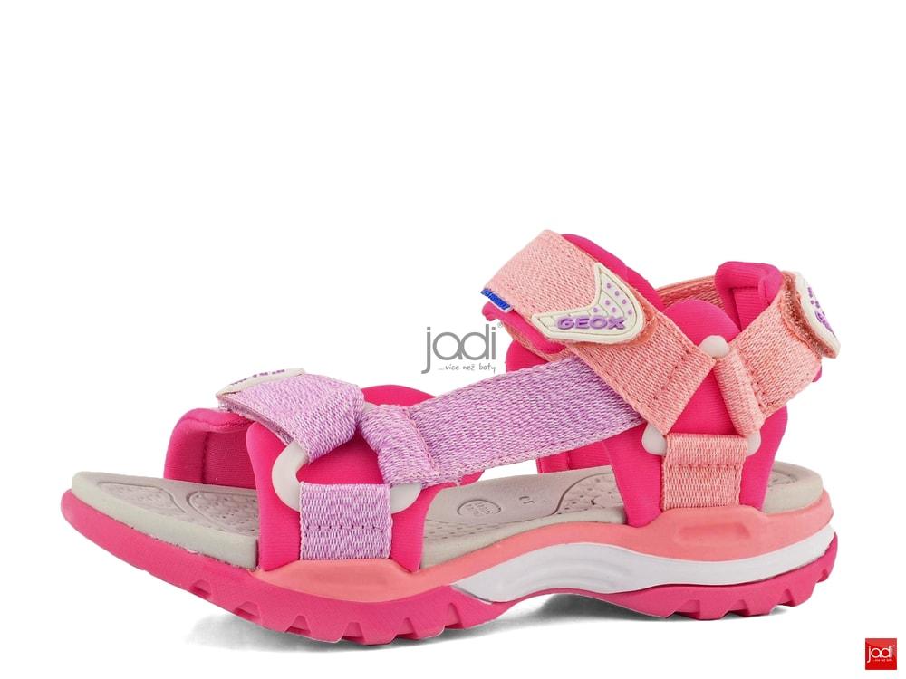 d9cb463366df Geox dievčenské sandále Borealis Coral J720WA01511 - Geox - Letní ...