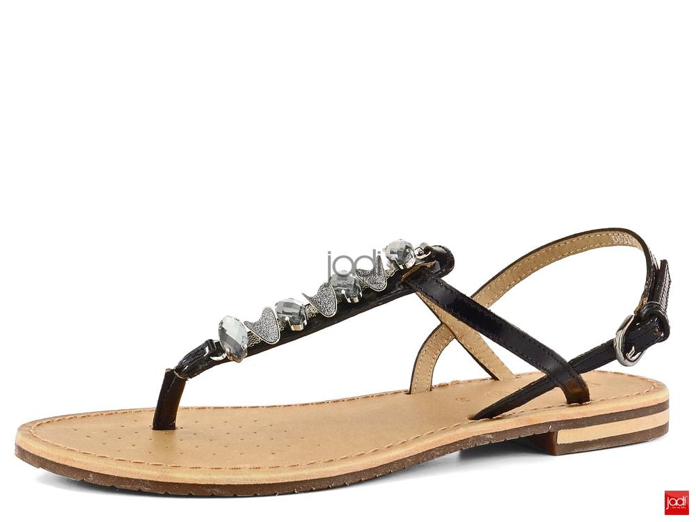 Geox sandály žabky černé Sozy D622CC00066C9999 - Geox ... f3677b7646