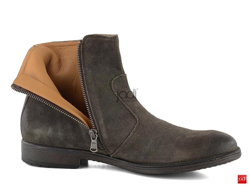 Geox členkové topánky pánske semišové Mud U74Y7A00022 - Geox ... 3b950da3933