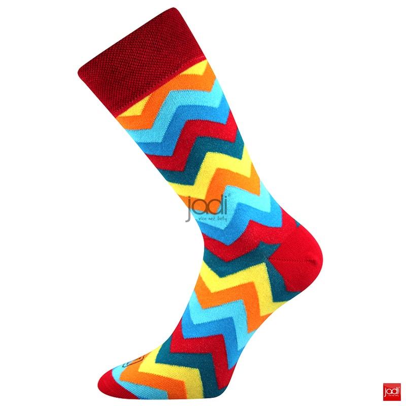 69375de25d9 Lonka luxusní barevné ponožky  3 páry - Lonka - Pánské ponožky ...