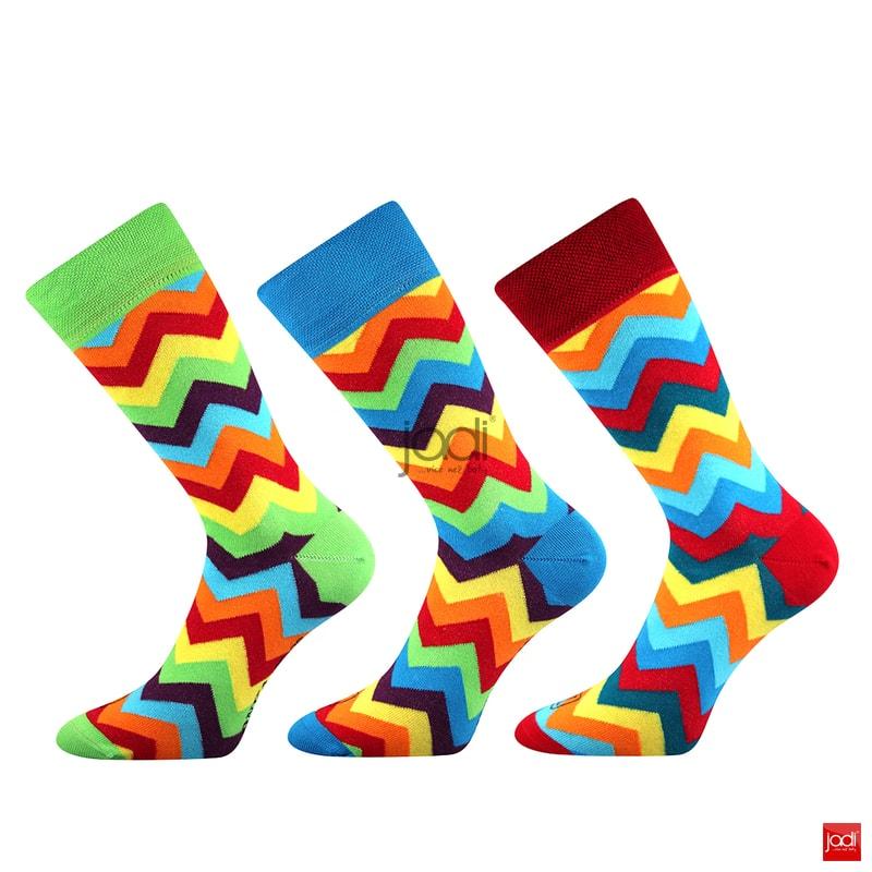 Lonka luxusní barevné ponožky  3 páry - Lonka - Pánské ponožky ... 59aa574c3a