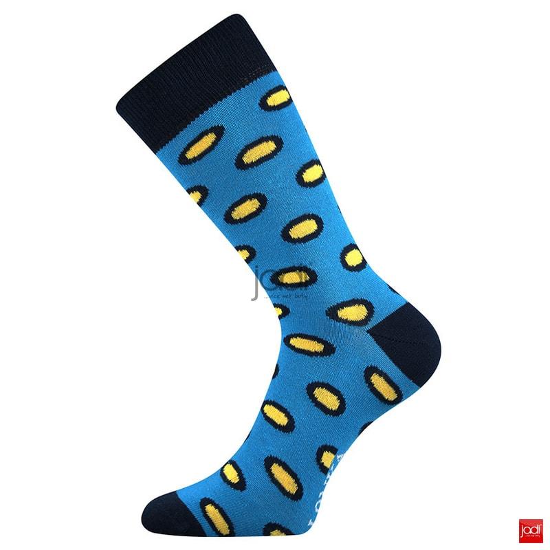 8f1faf1369c Lonka luxusní ponožky retro styl barevné  3 páry - Lonka - Pánské ...