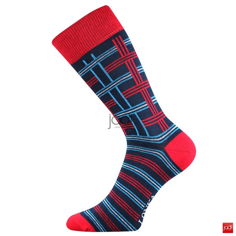 0f66651d8ea Lonka luxusní ponožky retro styl barevné  3 páry - Lonka - Pánské ...