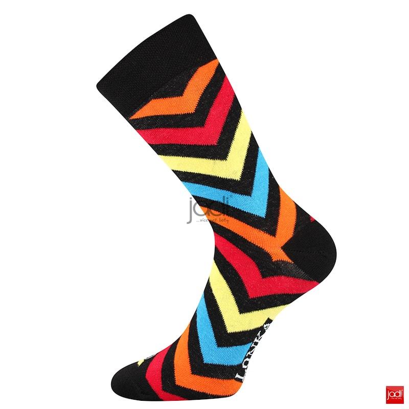 7d59371d922 Lonka luxusní ponožky barevné neonové  3 páry - Lonka - Pánské ...