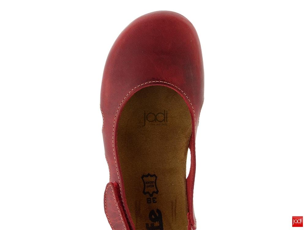 71ff1de302f BIO Life fuzbetové sandály červené Riva 0837.81 - BIO Life - Sandály ...