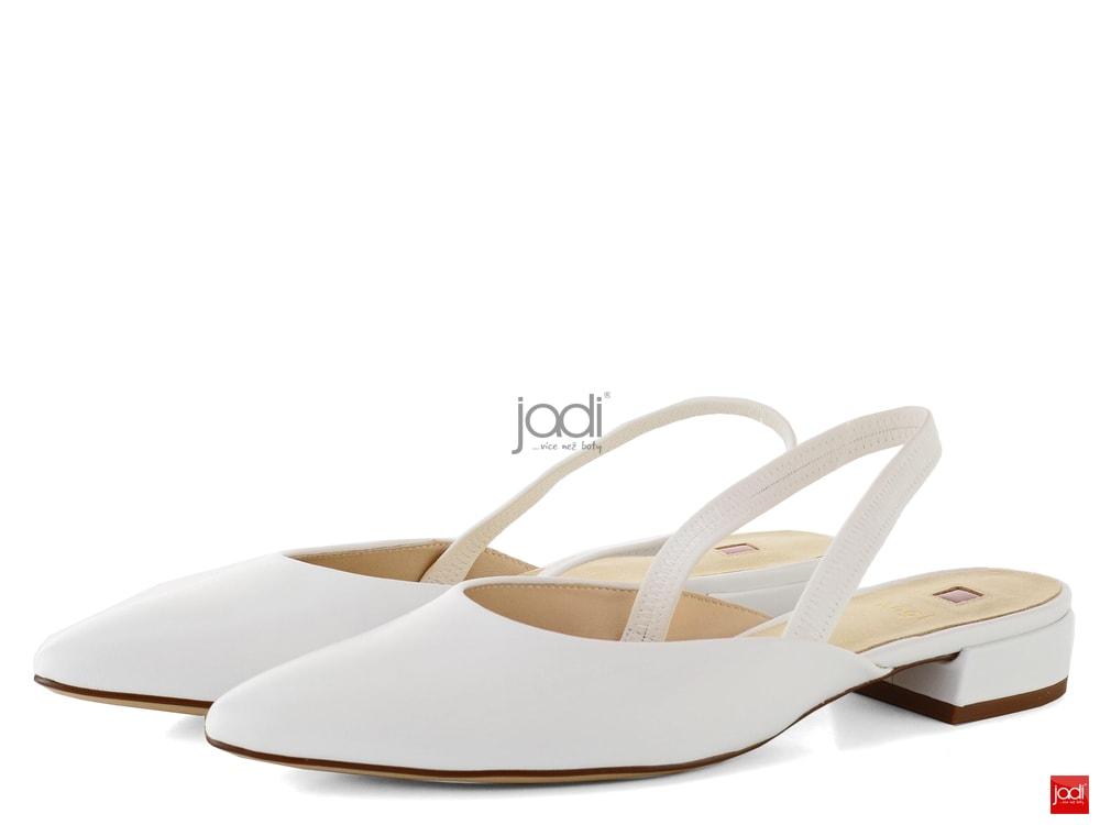 Högl balerínky s volnou patou bílé 5-102623 - Högl - Baleríny - JADI ... a860a83a0d