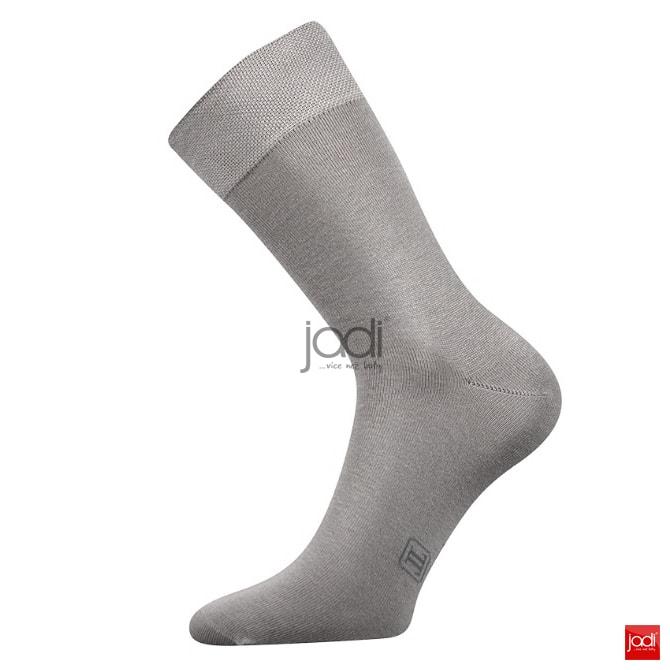 0182705daa4 Lonka ponožky hladké světle šedé - Lonka - Pánské ponožky - JADI ...