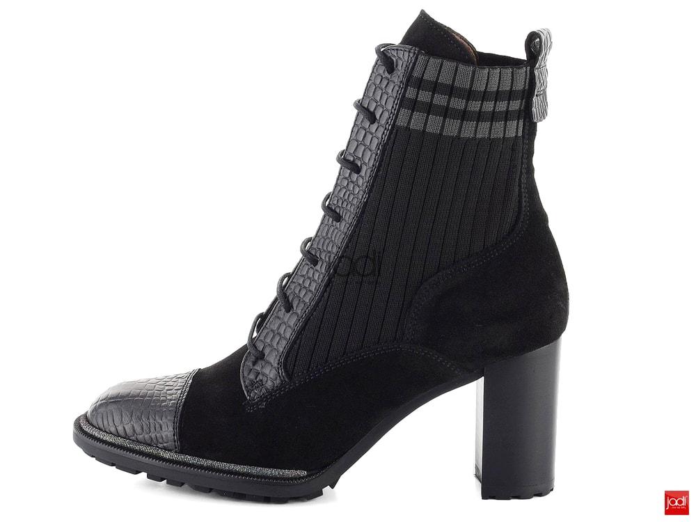 c7c06daf5c07 Hispanitas ponožkové členkové topánky čierne HI87585 - Hispanitas ...