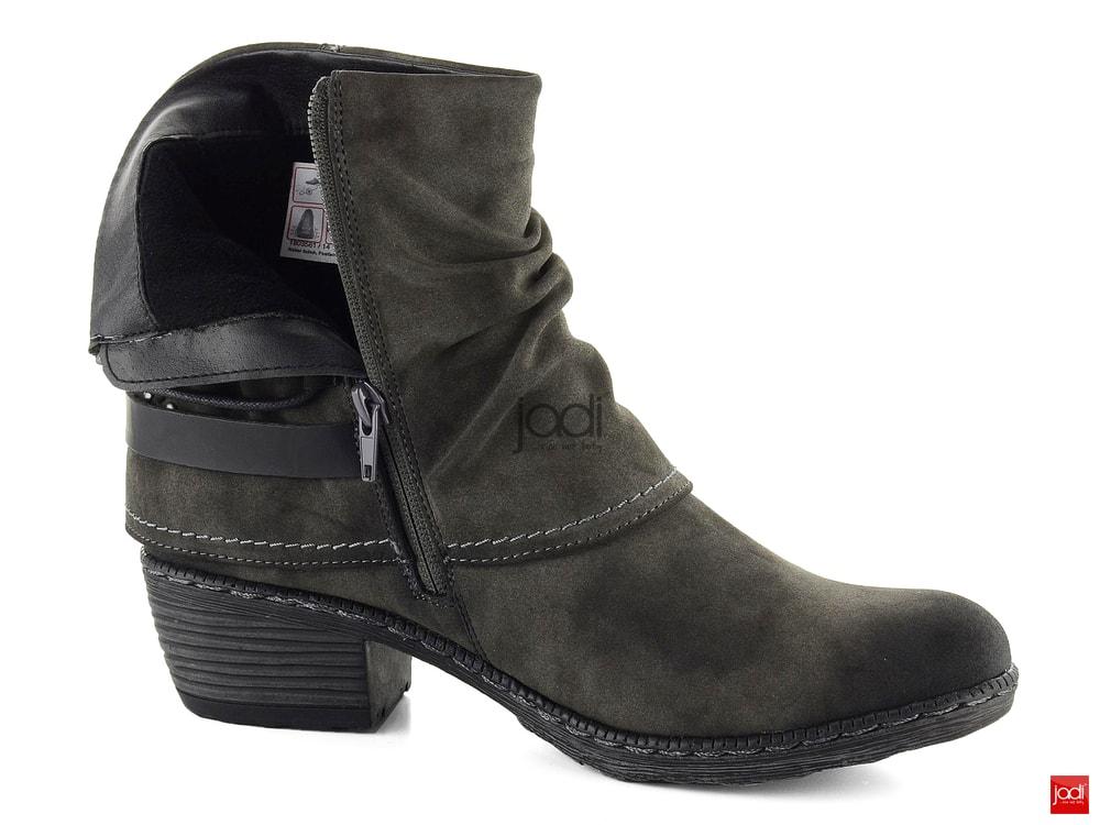 bafe19b2b87 Rieker westernové členkové topánky antracitové K1470-45 - Rieker ...