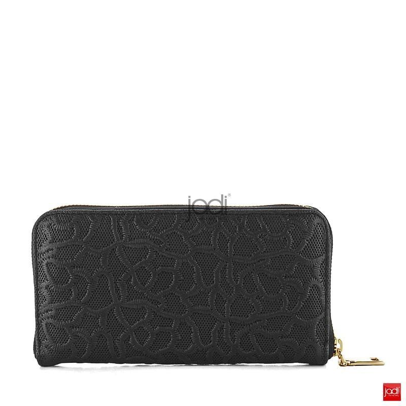 ... Elega by Dana M. peněženka s vytlačovanou krajkou černá 69888 ... 218d1ab1e06