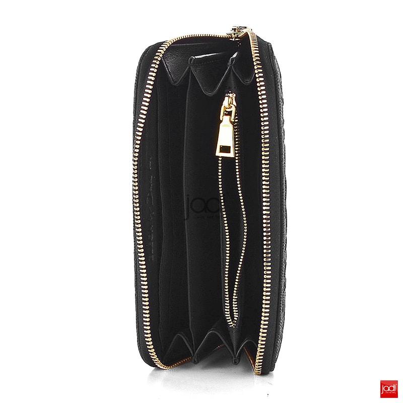 Elega by Dana M. peněženka s vytlačovanou krajkou černá 69888 ... 1aa1830c7a0