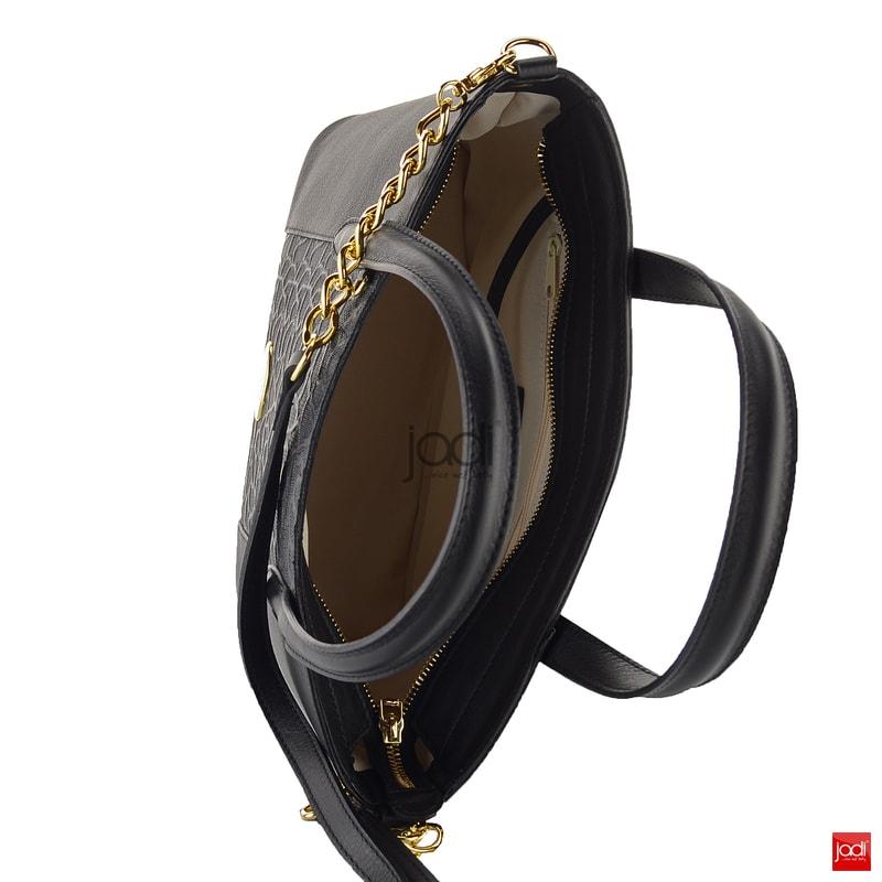 ... Elega by Dana M. shopperka malá s vytlačovanou krajkou černá 69355 ... 2cab7a887fa