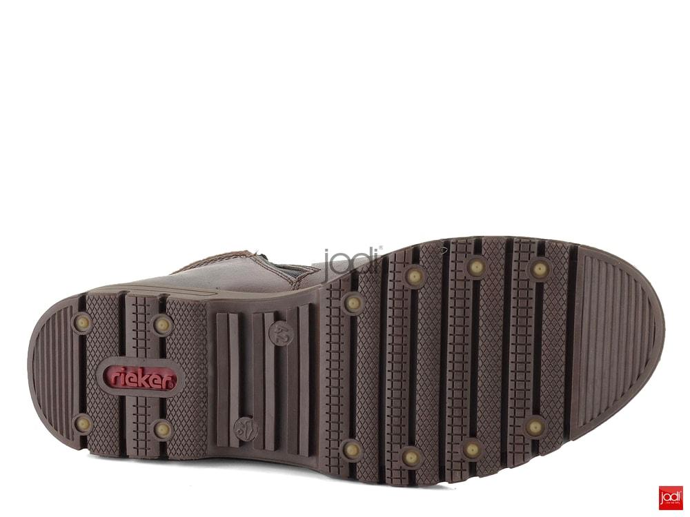 a87c20cbd ... Rieker zateplené členkové topánky s membránou hnedé F3112-25 ...