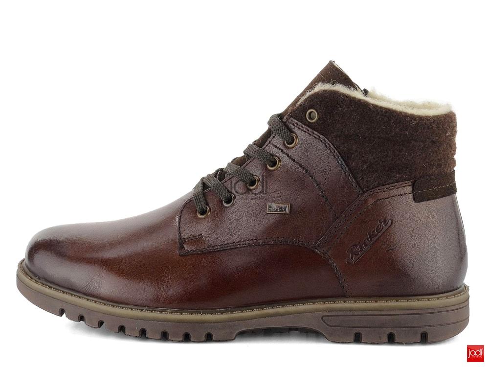 4dbe6a90f Rieker zateplené členkové topánky s membránou hnedé F3112-25 ...