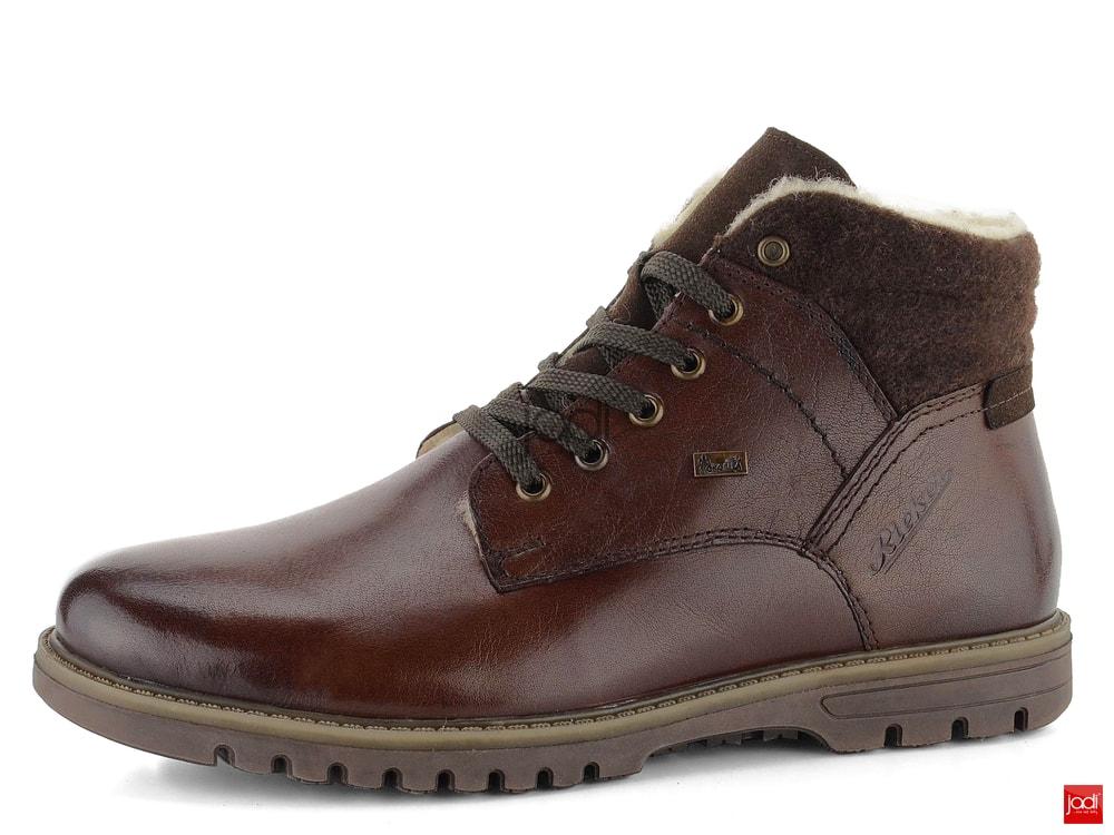 Rieker vyteplený kotník s membránou hnědý F3112-25 - Rieker - Podzim zima -  JADI.sk - ...viac než topánky 392738cb12