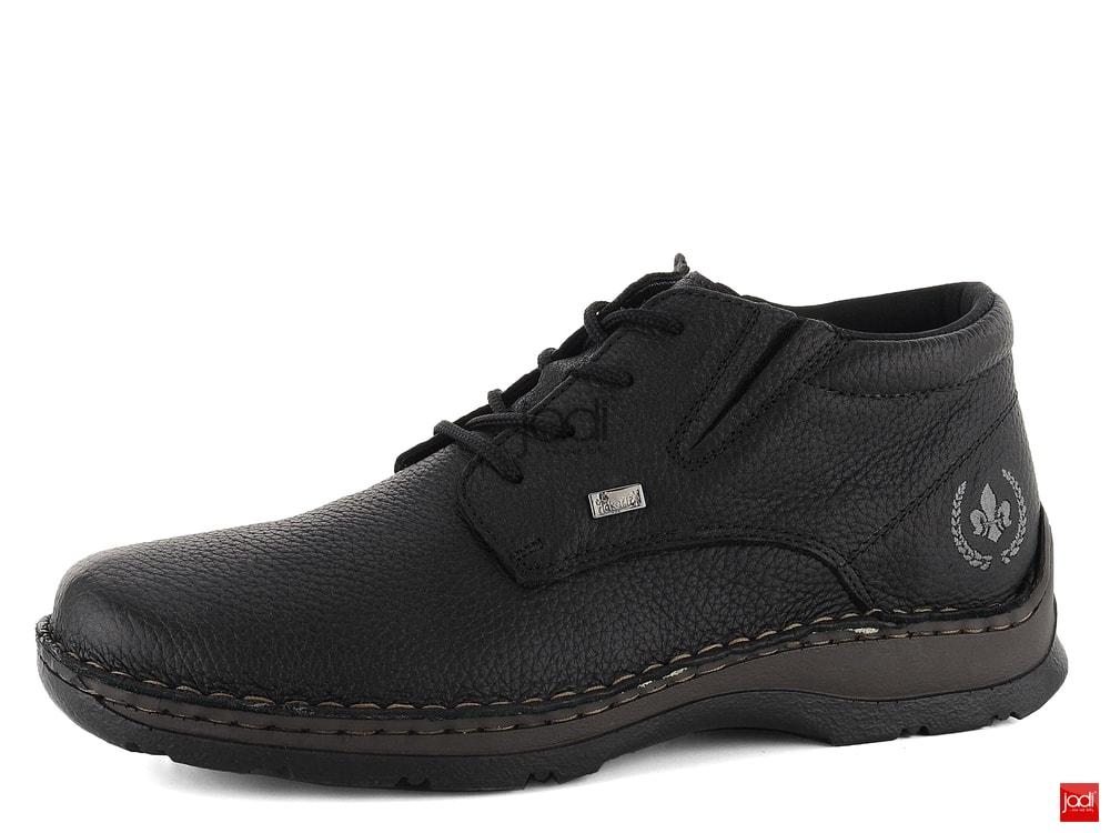 be635d72b03b7 Rieker pánske členkové topánky s membránou čierne 05334-00 - Rieker ...