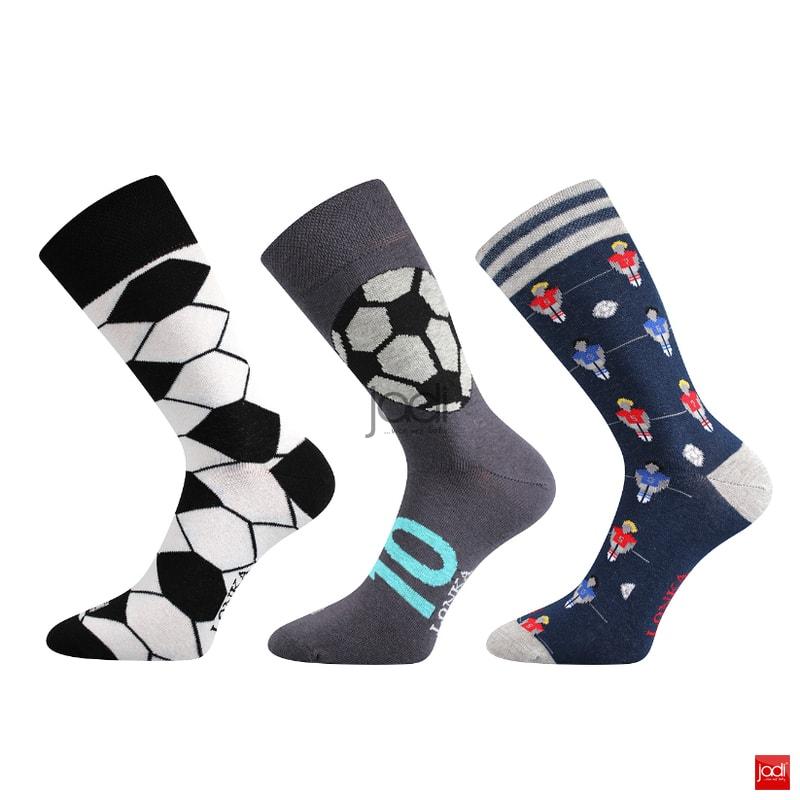 f385b5964c9 Lonka luxusní ponožky barevné fotbal - Lonka - Pánské ponožky ...