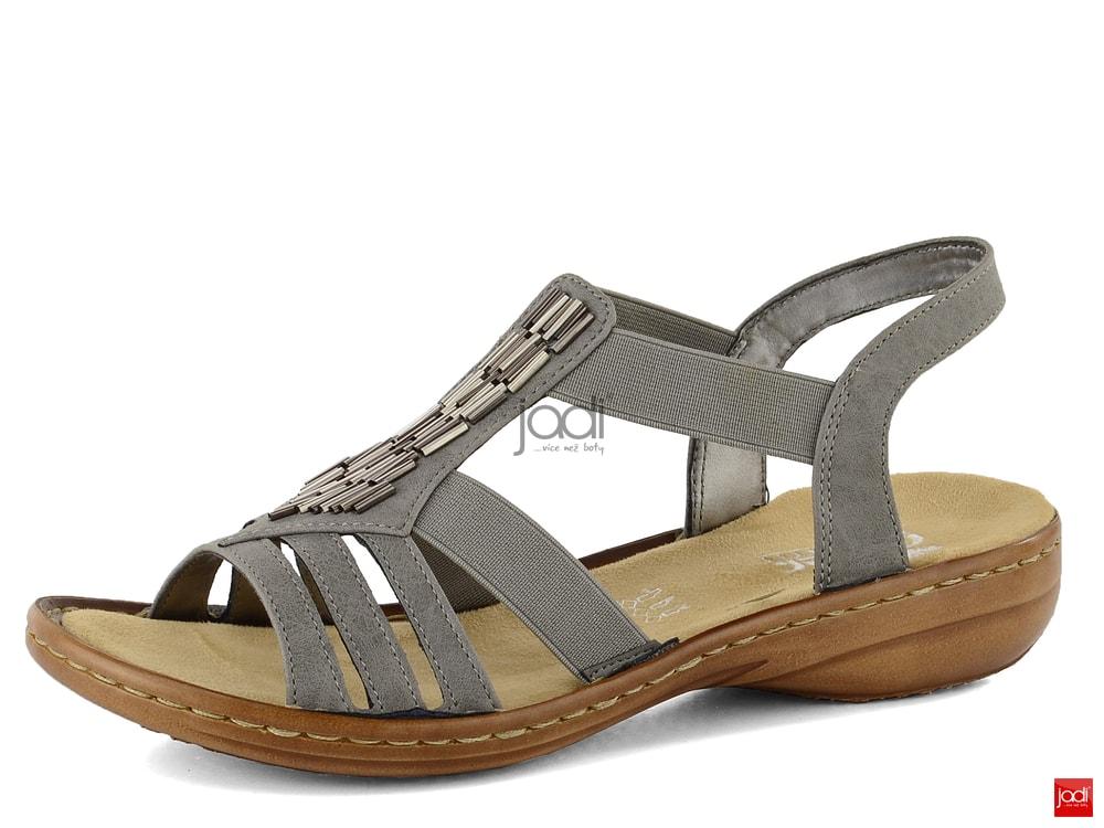 b9eff58718d4 Rieker sandály šedé 60800-42 - Rieker - Sandále - JADI.sk - ...viac ...