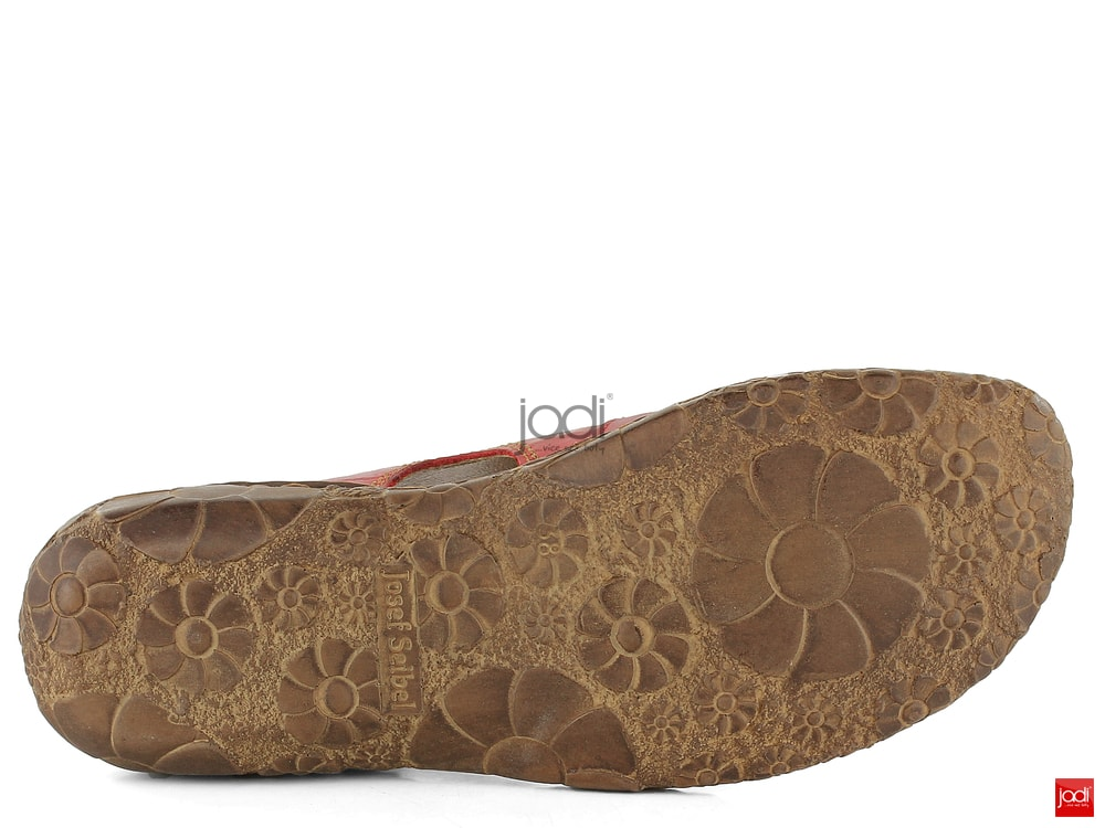 4b07c95b5406 Josef Seibel sandály s plnou špičkou červené 7952795 - Josef Seibel ...
