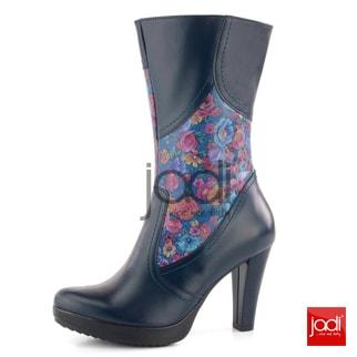 Barton čižmy modré kvetované 18716 - Barton - Čižmy - JADI.sk - ...viac než  topánky 611c0b73d96
