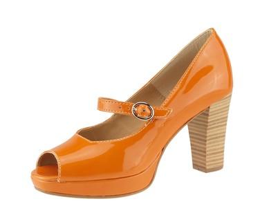 Tamaris lodičky orange