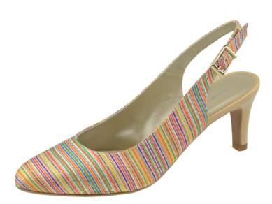 Brenda Zaro lodičky barevné Atena Multi